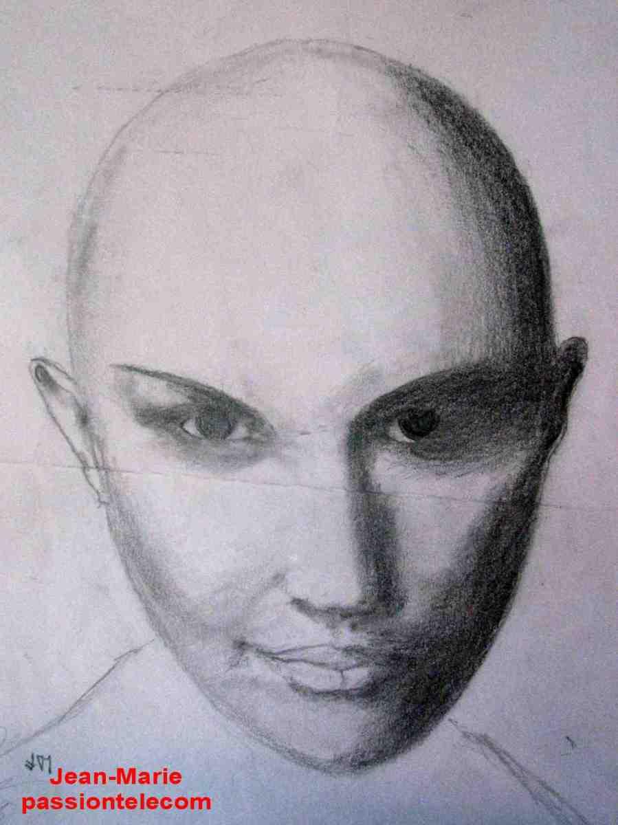 ombre crayon